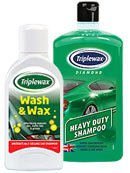 Triplewax Shampoos